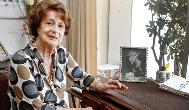 Ángela Jeria Gómez (1926-2020): Homenaje de los Aviadores
