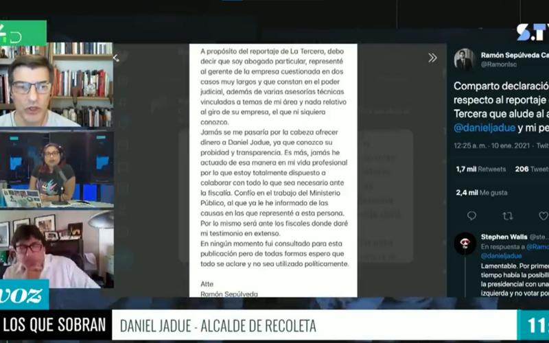 Daniel Jadue Mónica Rincón