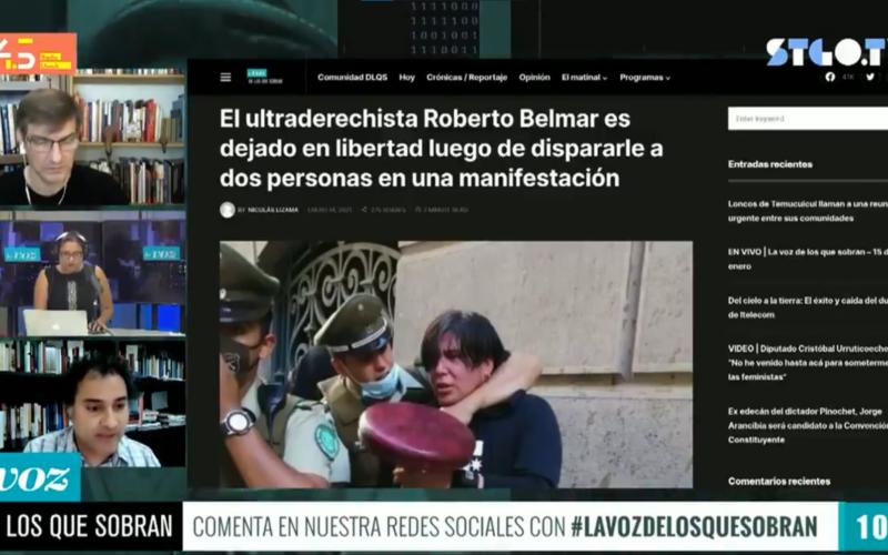 Hassan Akram Roberto Belmar Estado Cómplice