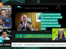 Yenny Llanos Ministro José Antonio Walker
