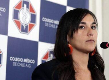 Izkia Siches Presidenta del Colegio de Médicos