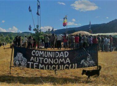 Temucuicui Policía comunal mapuche