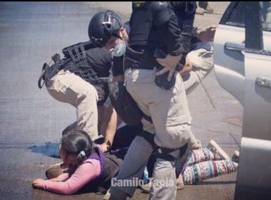 Defensoría de la Niñez Camilo Catrillanca hija
