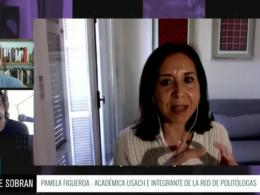 Pamela Figueroa de la red de politólogas