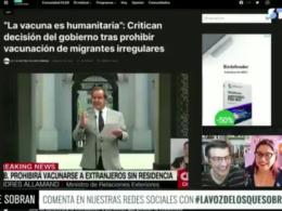 Hassan Akram Andrés Allamand vacunación