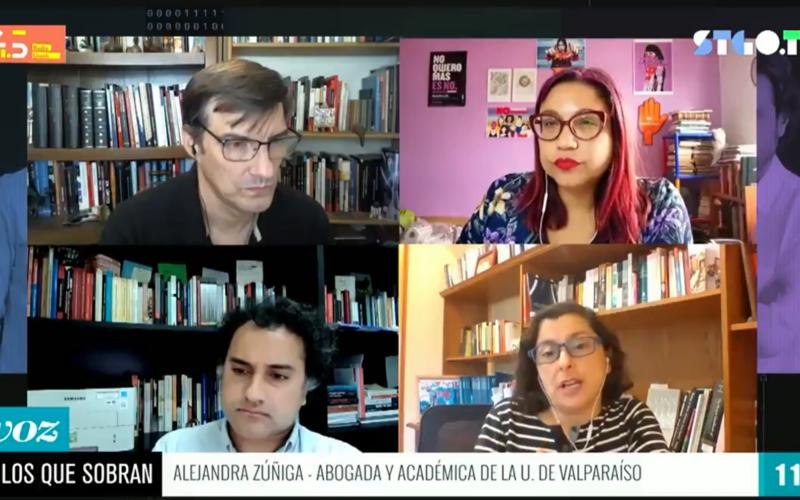 Alejandra Zúñiga Ingreso Básico Universal