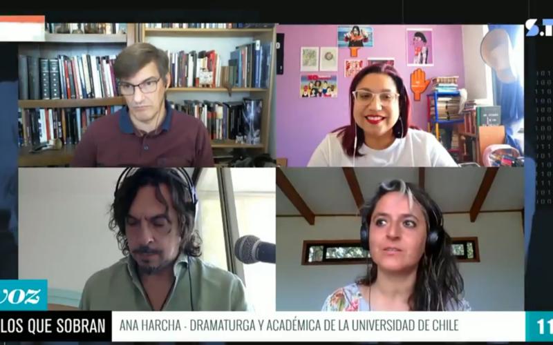 """Ana Harcha El arte es ese grito, más allá de la pancarta"""""""