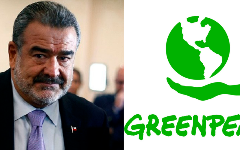 Greenpeace y Andrónico Luksic