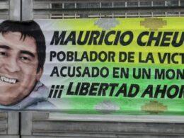 Mauricio Cheuque Sexto Tribunal Oral en lo Penal de Santiago absuelto