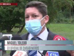 Ex oficial de carabineros Miguel Toledo